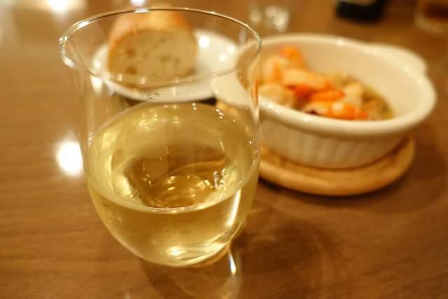 ちゃぶ台の白ワイン