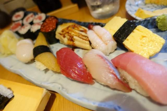 凧ずしの寿司盛り竹