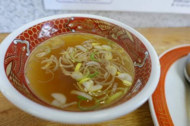 栄龍のスープ