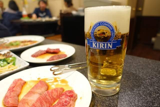 くい亭の生ビール