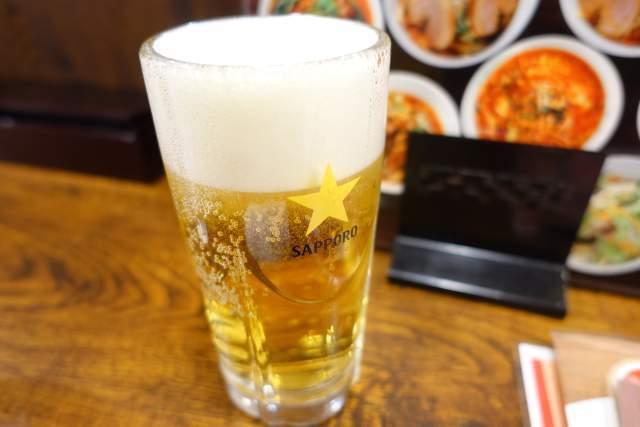 金蘭の生ビール