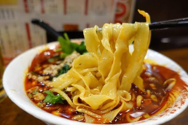 金蘭の刀削麺