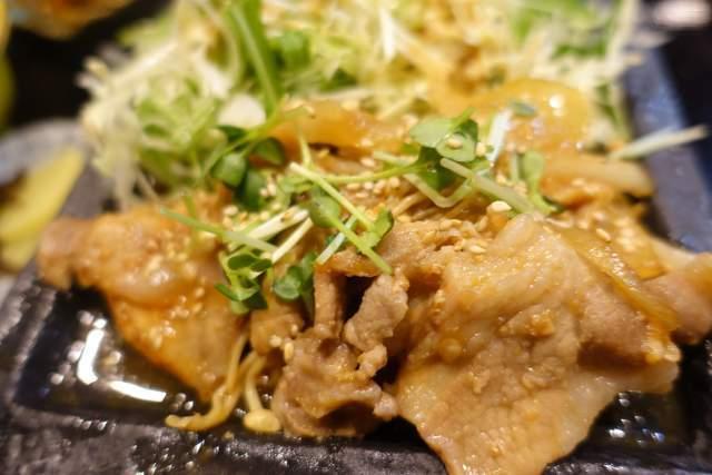 咲らの豚の生姜焼き