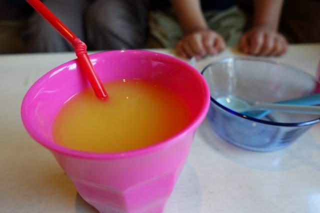 ロートスのオレンジジュース