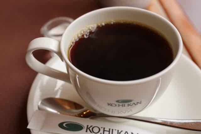 珈琲館のコーヒー