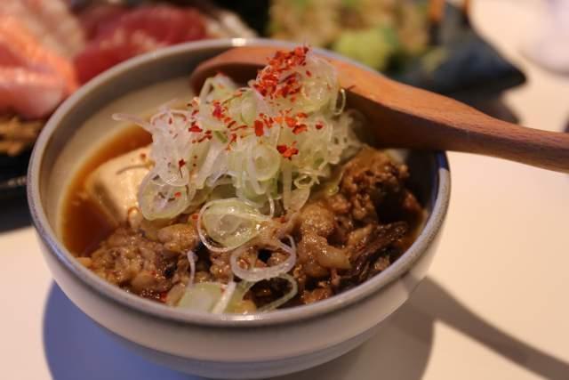 フジタカ食堂の肉豆腐