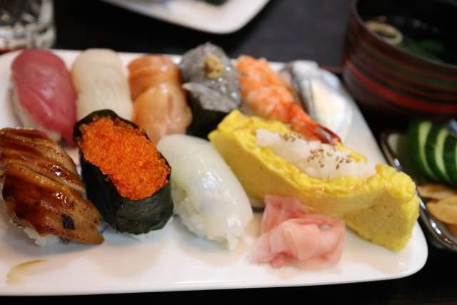 大和寿司のおまかせ握り寿司