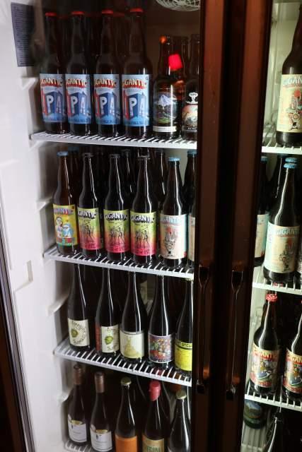 HATOSのビールの冷蔵庫