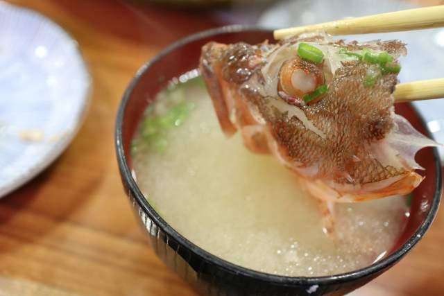 魚魚魚のあら汁