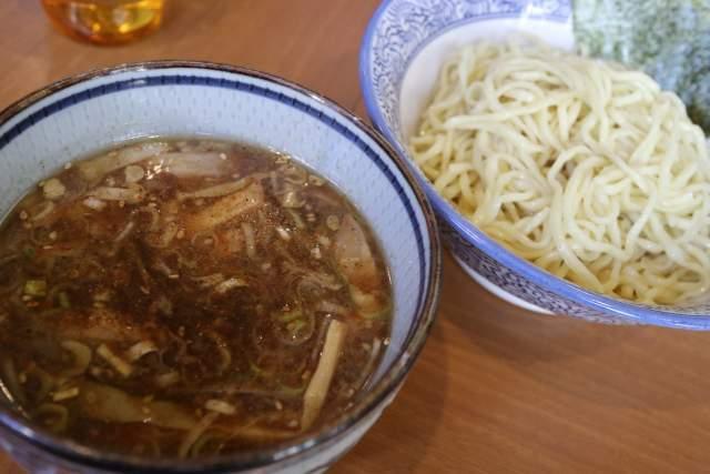 ばんやの醤油つけ麺