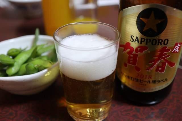 鳥ぎんの瓶ビール
