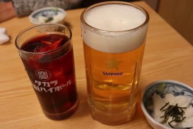 鳥たけのビール